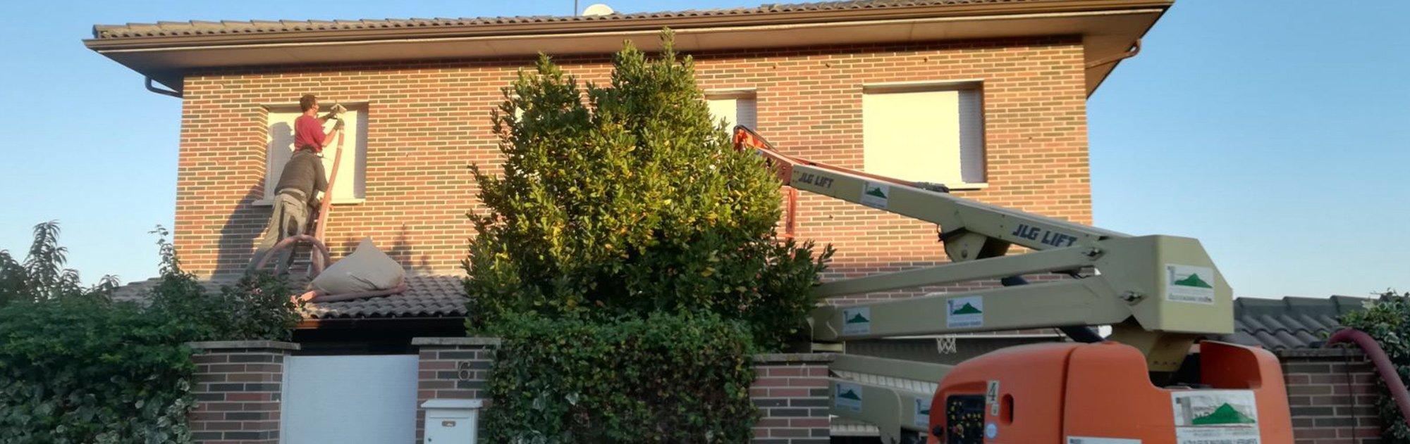 Aislamiento en fachadas sin obra